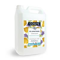 Мыло мягкое для рук с лимоном и лавандой Coslys,5л