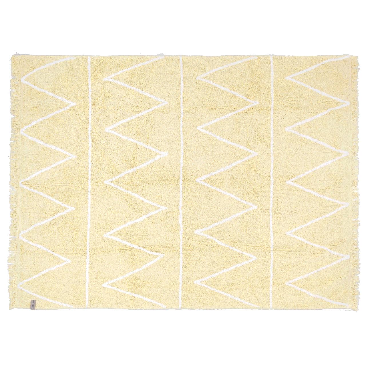 Lorena Canals - Ковер Hippy yellow, 120 x 160 см
