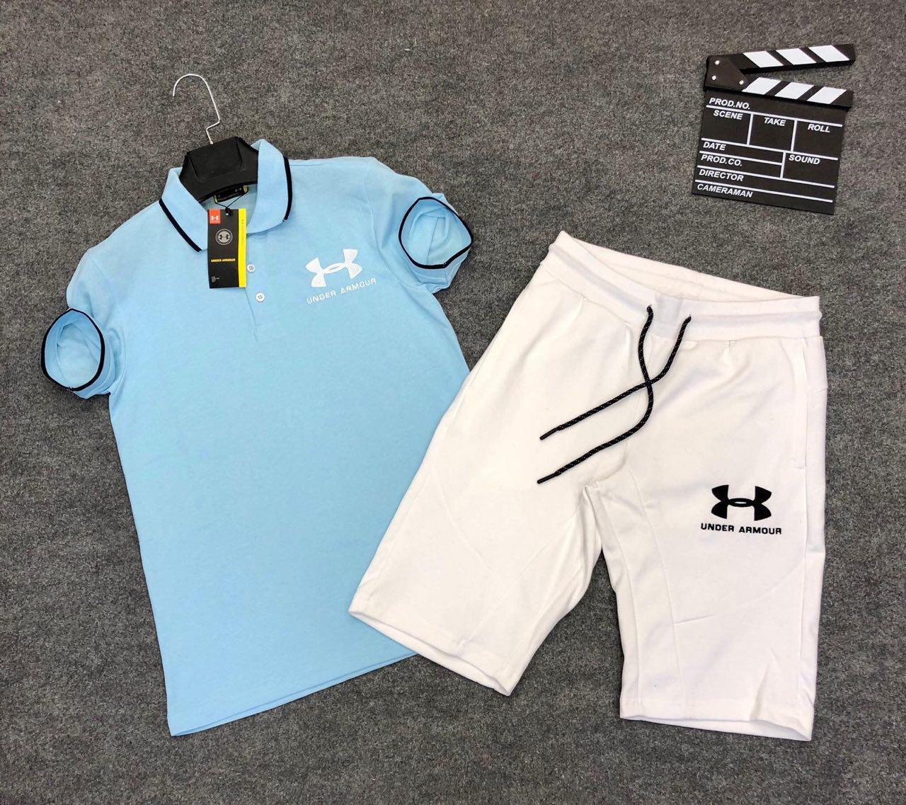 Мужской спортивный костюм (футболка и шорты) Under Armour Easiness