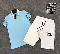 Мужской спортивный костюм (футболка и шорты) Under Armour Easiness, фото 1