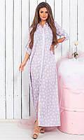 Плаття літнє довге в кольорах 230, фото 1