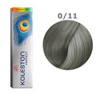 Краска для волос Wella Koleston Perfect № 0/11 (пепельный) - special mix