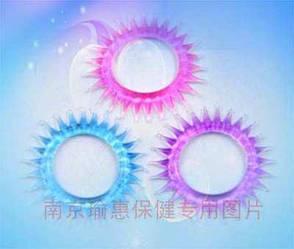 Эрекционное кольцо-насадка Silikon Penisring Clear1шт