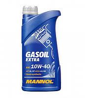 Спеціальнавсесезоннанапівсинтетичнамоторнаолива MANNOL Gasoil Extra 10W-40 API SL/CF  1л.