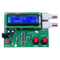 DDS генератор сигналов 1-65534Гц, 1-8МГц, 7-9В, ATmega16A