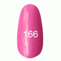 Гель лак Kodi 8 мл. Цвет №166 - ярко-розовый с перламутром
