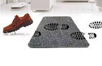 Придверный супервпитывающий коврик Clean Step Mat Коричневый