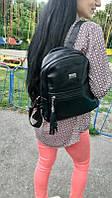 Женский рюкзак черный, рюкзак для девушки, рюкзак жіночий