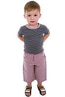 Капри детские лен