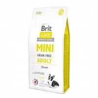 Корм Brit Care GF Mini Adult Lamb Брит Каре для собак малих порід з ягням 7 кг