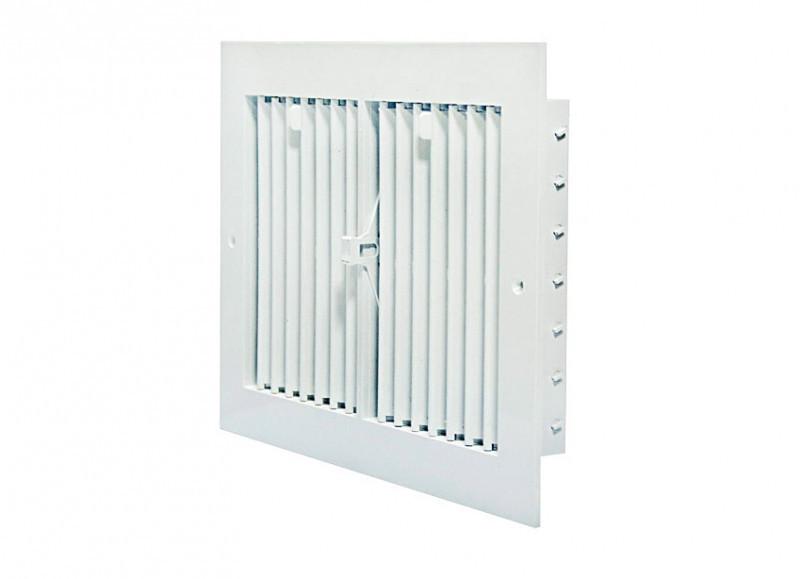 Решетка вентиляционная пластиковая с регулировкой 300х450 мм Twitoplast (Израиль)