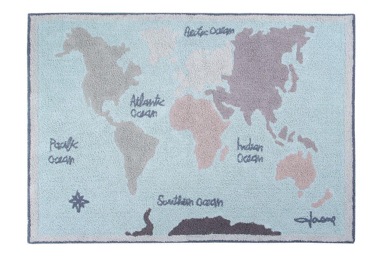 Lorena Canals - Ковер Vintage Map 140 x 200 см