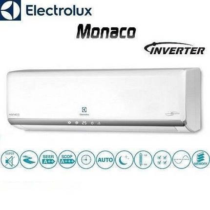 Кондиционер- Electrolux Inverter Мульти-сплит Внутренние настенные блоки Super Match ERP (-20°C), фото 2
