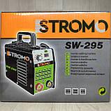 Сварочный аппарат инвертор STROMO SW 295 (295 А, дисплей) Сварка стромо, фото 4