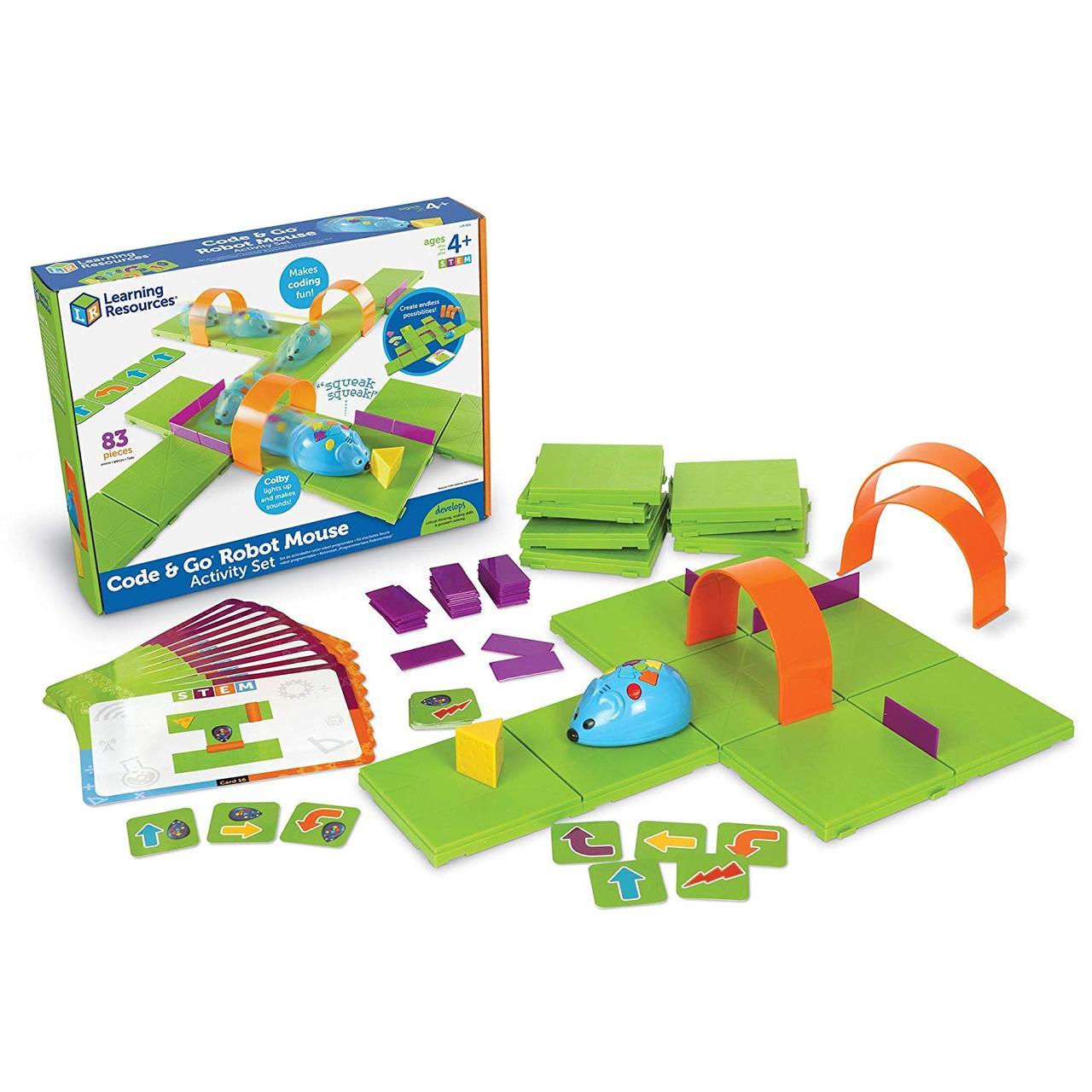 """Игровой STEM набор """"Мышь в лабиринте"""" с карточками Learning Resources"""