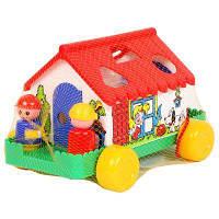 Развивающая игрушка Полесье Игровой дом (6202), фото 1