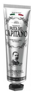 Зубна паста з деревним вугіллям Pasta Del Capitano Charcoa