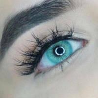 """Цветные линзы для глаз голубые """"Blue"""" косметические. Купить по самым низким ценам в Украине."""