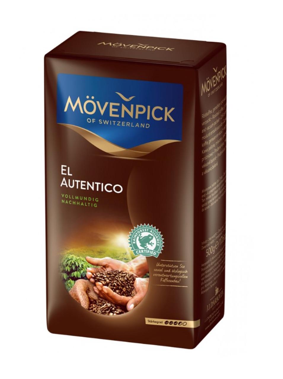 Кофе Movenpick El Autentico (500 г) молотый