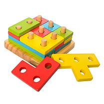Деревянная игрушка Геометрика , фото 3