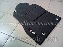 Ворсовый водительский коврик Fiat Fiorino