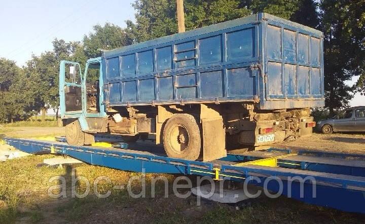 Весы автомобильные 10 метров 40 тонн