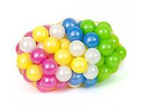 Шарики восстанавливающие свою форму - безопасные качественные перламутровые шарики для детских развлечений