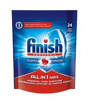 Таблетки для посудомоечных машин FINISH All in 1 Max 24 шт. (5900627062342)