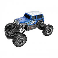 Автомобиль OFF-ROAD CRAWLER на р/у – WILD COUNTRY (аккум. 3,6V, 1:20) ТМ Sulong Toys Синий SL-106AB