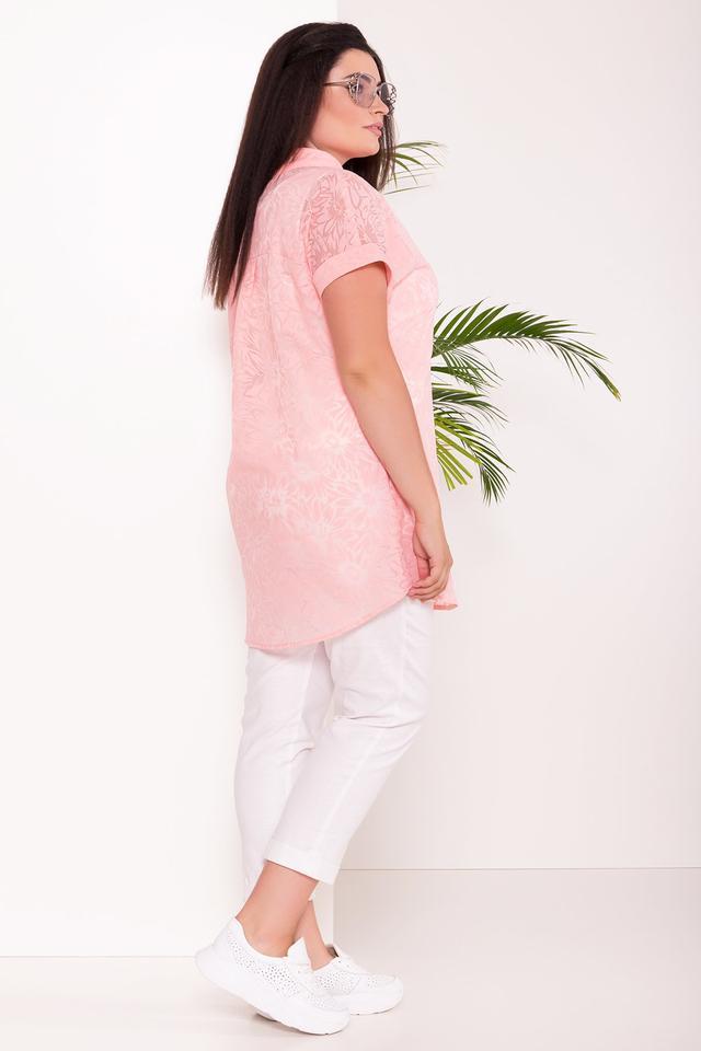 Фото-1 Летней блузы большого размера Аланья-2