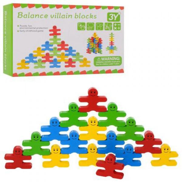 """Деревянная игрушка """"Balance villain blocks"""""""