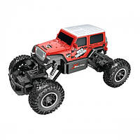 Автомобиль OFF-ROAD CRAWLER на р/у – WILD COUNTRY (аккум. 3,6V, 1:20) ТМ Sulong Toys Красный SL-106AR