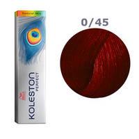 Краска для волос Wella Koleston Perfect № 0/45 (красно-махагоновый) - special mix