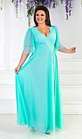 Легкое летнее платье размер 50-56. Артикул: 0130960