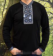 Трикотажная мужская вышиванка