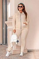 Симпатичный женский спортивный костюм размер XXL, фото 1