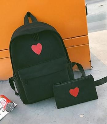 Женский рюкзак портфель + кошелек