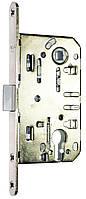 Замок для межкомнатной двери USK 410C PVC 85*50 AB, BN