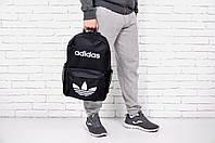 Рюкзак Adidas Originals міської якісний модний, колір чорний, фото 1
