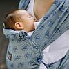 """ЛавТай """"Диаманты"""" С рождени Шарфомай Love & Carry Слинг для переноски новорожденных детей не Кенгуру"""