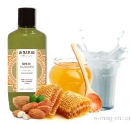"""Крем-бальзам """"O'BERIG"""" миндально-молочный с мёдом, 500 мл"""