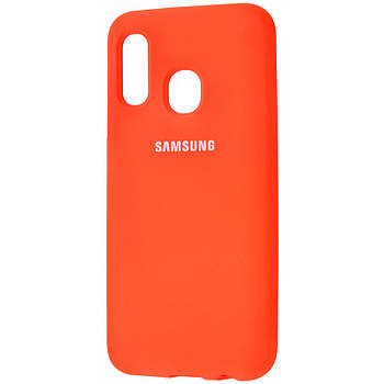 Чехол Silicone Cover Full Protective (AA) для Samsung Galaxy A20 / A30