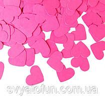 Конфетnb Сердечки, 35 мм, цвет розовый, 250 г.