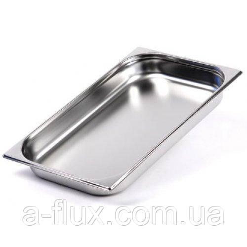 Гастроёмкость  нержавеющая сталь без ручек GN 1/1 h-100 мм Brillis