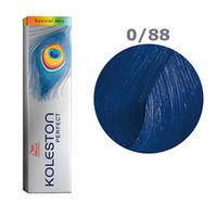 Краска для волос Wella Koleston Perfect № 0/88 (синий интенсивный) - special mix