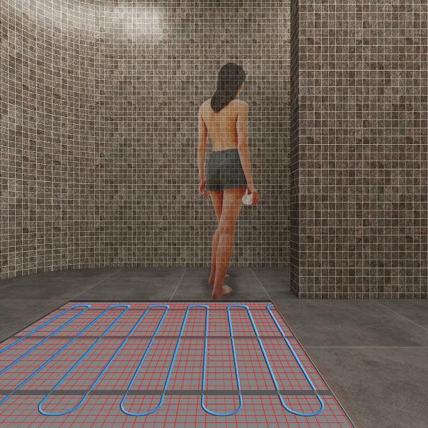 Тёплый пол под плитку для обогрева полов Heat Mat 150Вт/м2 (22*0.5)