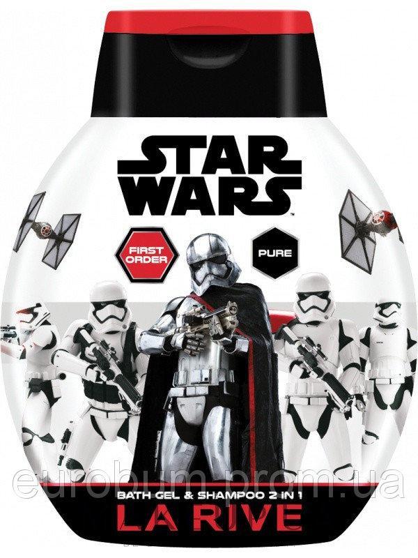 Шампунь-гель для мальчиков La Rive Star Wars First Order 250 мл