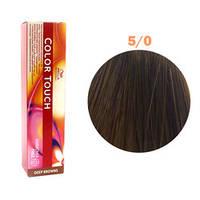 Краска для волос Wella Color Touch №5/0 (светло-коричневый)