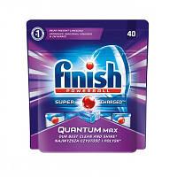 Таблетки для посудомийних машин FINISH Quantum 40  шт 5011417548110