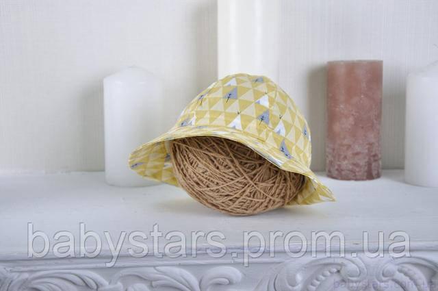 летняя панама для малыша